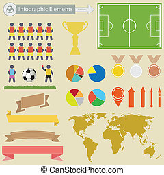 fottball, infographics