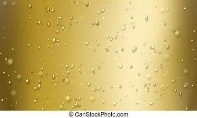 foucs, 泡, シャンペン, 空気