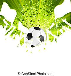 foule., ventilateurs, football, eps, 8