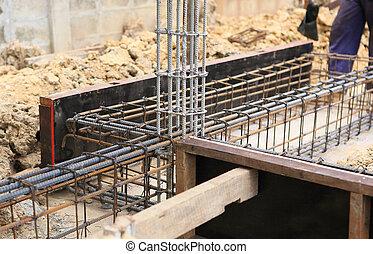 foundation prepare for home building