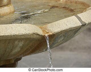 Fountain - A close-up of a fountain