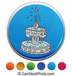 Fountain Button Set