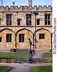 Fountain, Christ Church College.