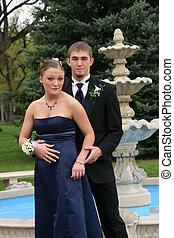Fountain Couple