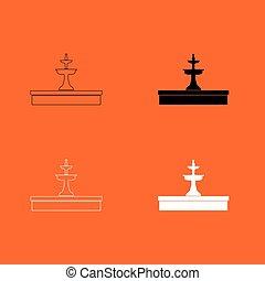 Fountain icon .