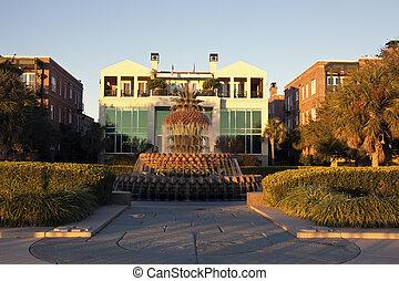 Fountain in Charleston