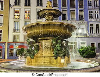 Fountain in Grenoble