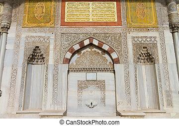 Fountain of Ahmed III, Istanbul, Turkey