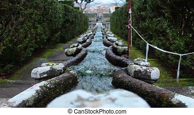 Fountain Of The Chain Villa Lante