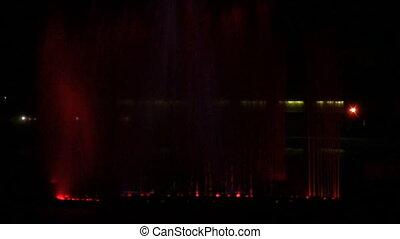 fountain on Neva closeup