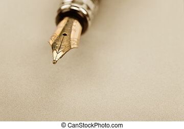 Fountain Pen close up shot
