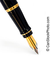 Fountain Pen (with Path)