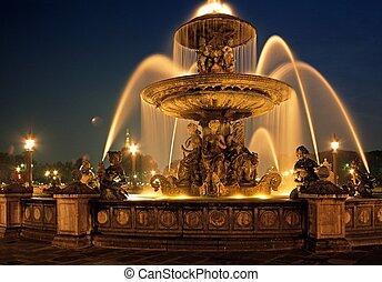 Fountain, Place de la Concorde.