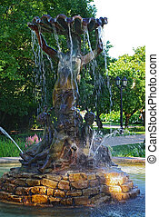 Fountain the Nymph, Riga, Latvia
