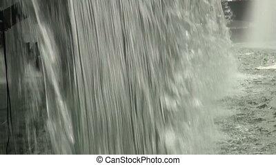 Fountain, waterfall