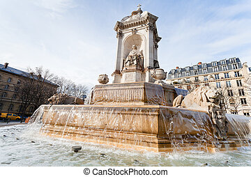 Fountaine Saint-Sulpice, Paris
