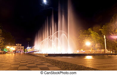 Fountains in Batumi
