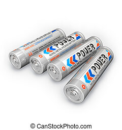 Four AA rechargeable batteries - Four AA rechargeable...