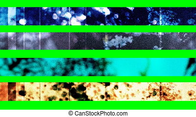 Four Abstract Grunge Lower Thirds