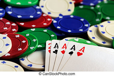 four aces chips