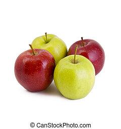 Four apples
