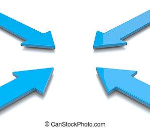 Convergent Arrows