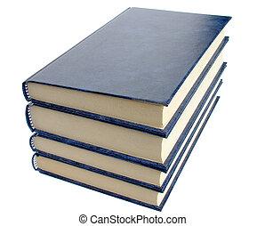 Four Books - Four books on a white background