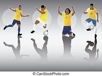 brazil soccer football player