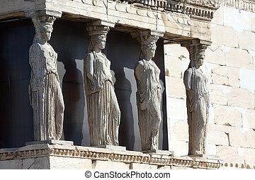Four Caryatids
