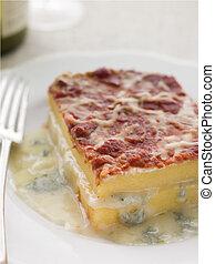 Four Cheese Baked Polenta