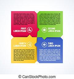 Four consecutive steps element - Four consecutive steps ...