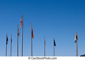 Four Corners Flags
