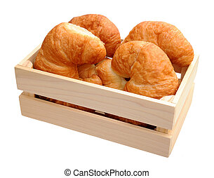 croissants in case