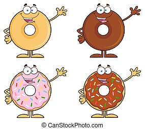Four Cute Donuts 2. Collection