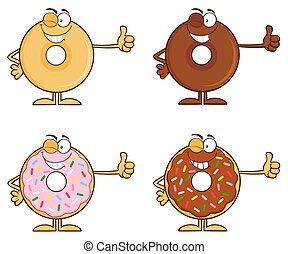 Four Cute Donuts 5. Collection