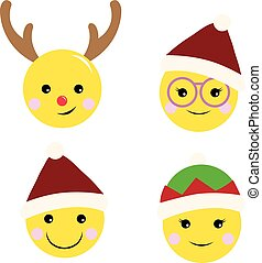 face emotion christmas