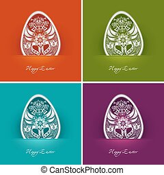 easter egg labels