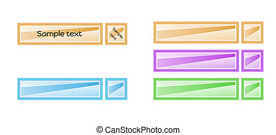 color blank labels