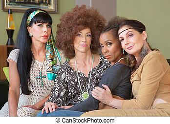Four Diverse Best Friends