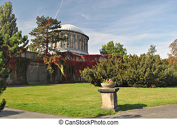 four-dome, paviljong, wroclaw, polen