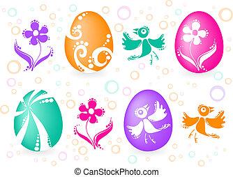 four-easter-eggs