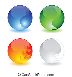 four elements balls