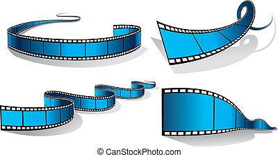 filmstrip - four filmstrips