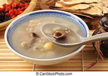 Four flavor herb soup - A Popular Taiwan