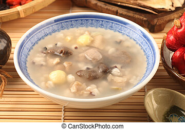 Four flavor herb soup - A Popular Taiwan