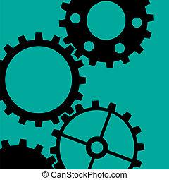 Four Gearwheels