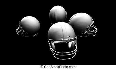 Four Helmets