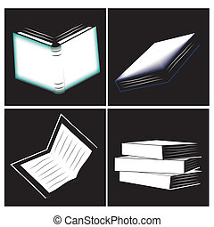 four icons of books