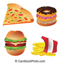 four icons of fast food