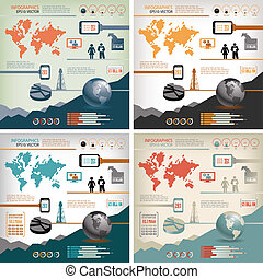 four-in-one, infographics